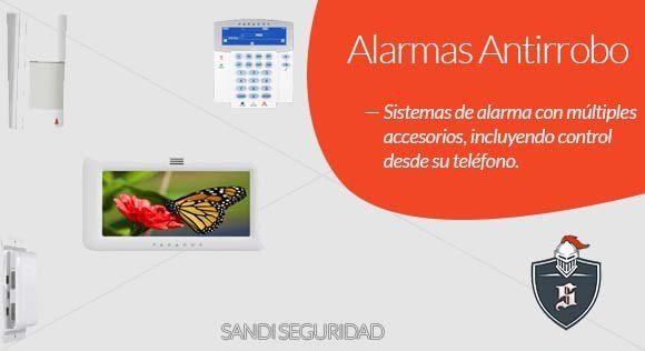 SANDI SEGURIDAD Alarmas